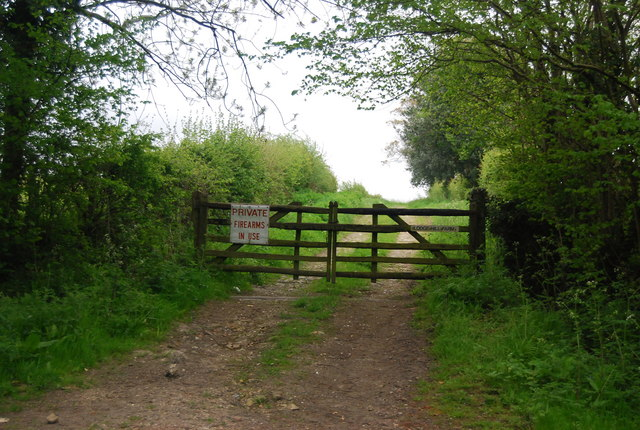 Take note of the sign, by the Sussex Border Path