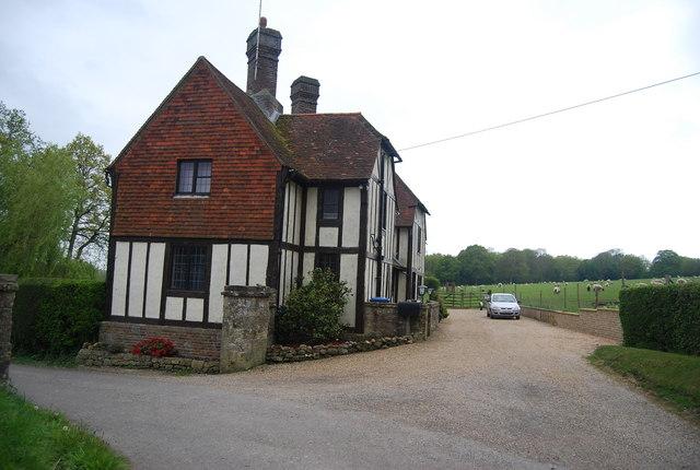A Wealden Hall, Broadhurst Manor