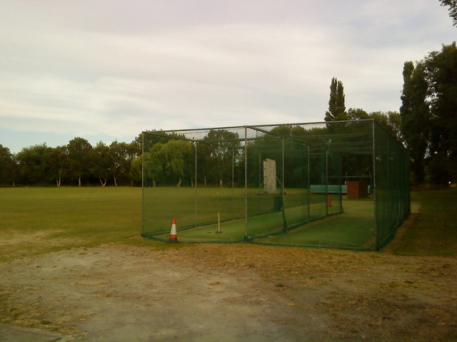 Practice nets at Attenborough