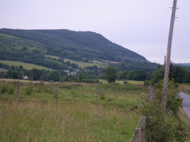 Rough pasture near Blairish