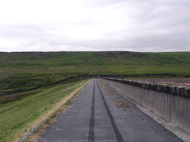 Dam Wall, Withens Clough Reservoir