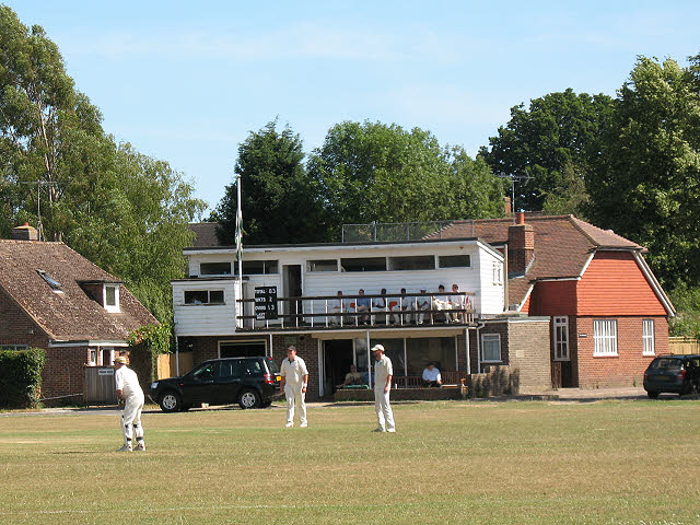 Leigh cricket pavilion