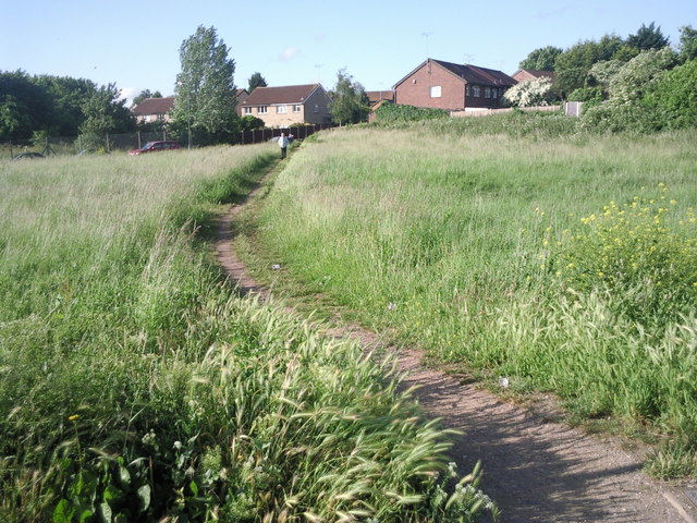 Footpath leading to Wyatt Road, Barnehurst