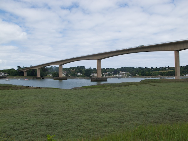 Torridge Bridge from the Tarka Trail