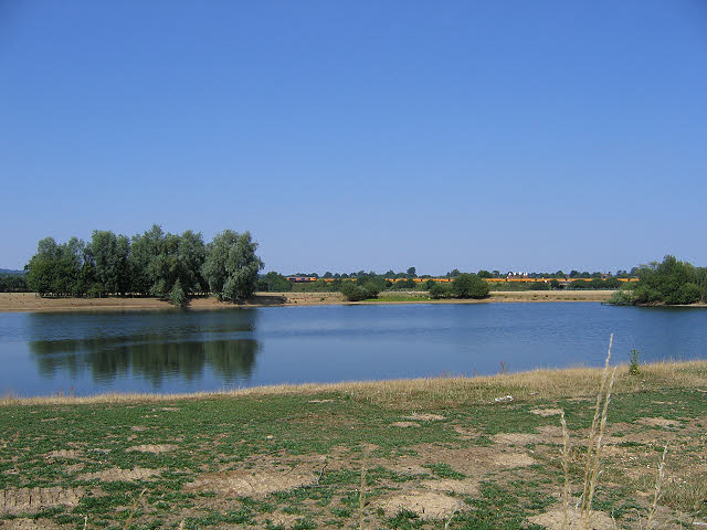 Fishing lake near Hildenborough