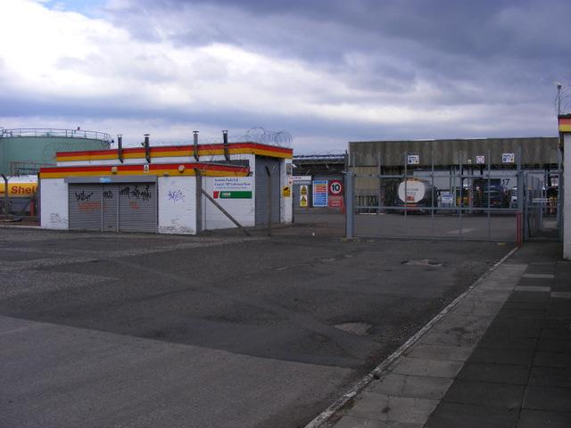 Hawkhead fuel depot