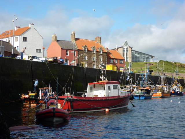Getting Down at Victoria Harbour, Dunbar