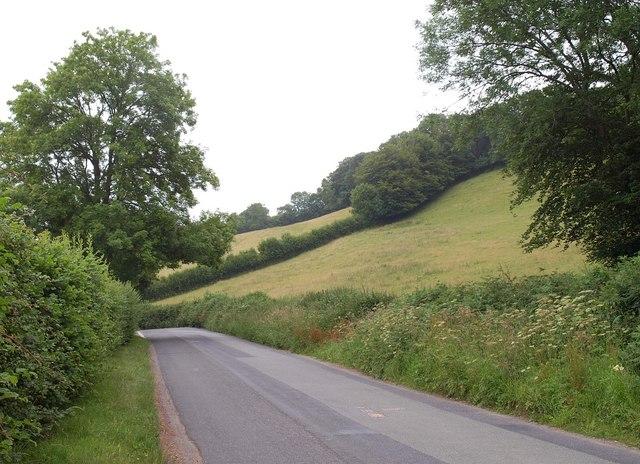 Road near Maundown