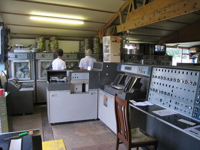 1960's Mainframe Computer at Buss Farm