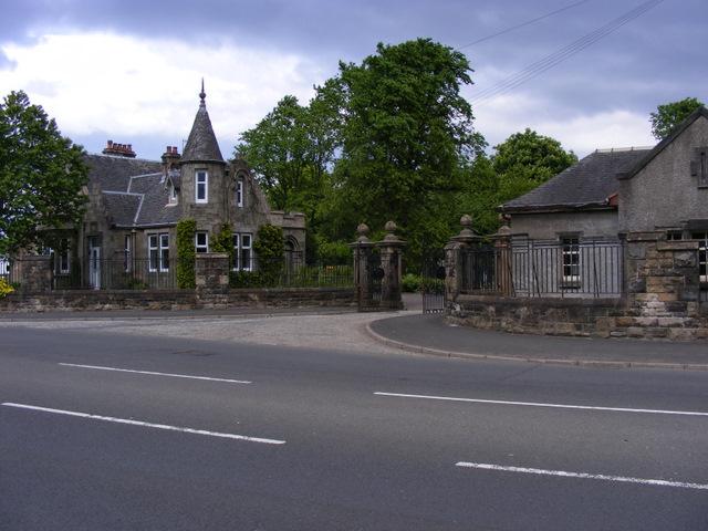 Gatehouse at Hawkhead Cemetery