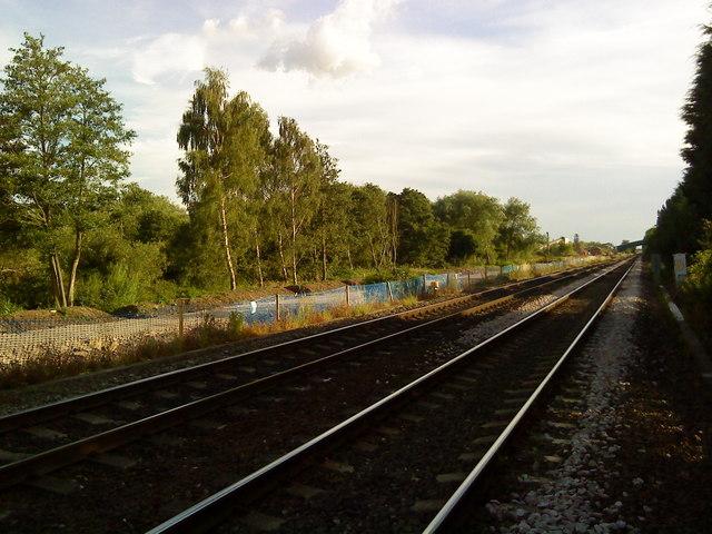 Railway line towards Attenborough