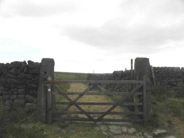 Boundary Gate, near the Te Deum Stone