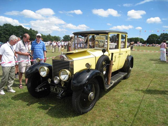 Pop Larkin's Rolls Royce