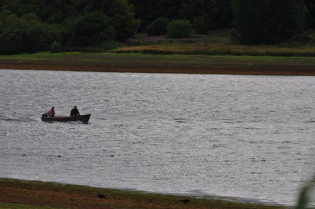 Exmoor : Wimbleball Lake & Boat