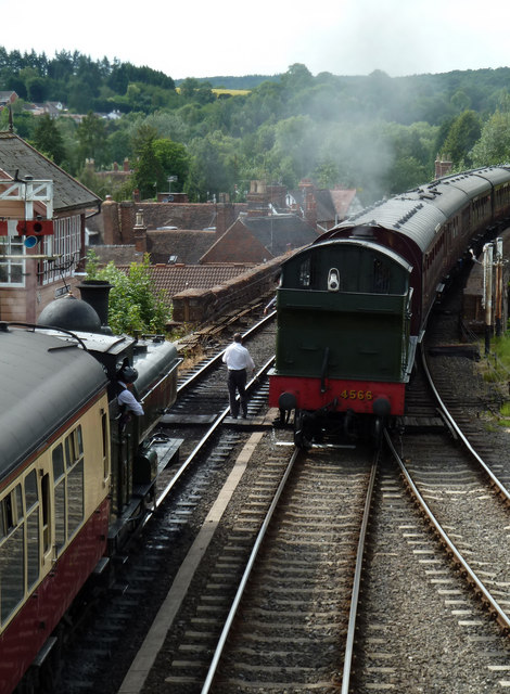 Waiting patiently - Bewdley station