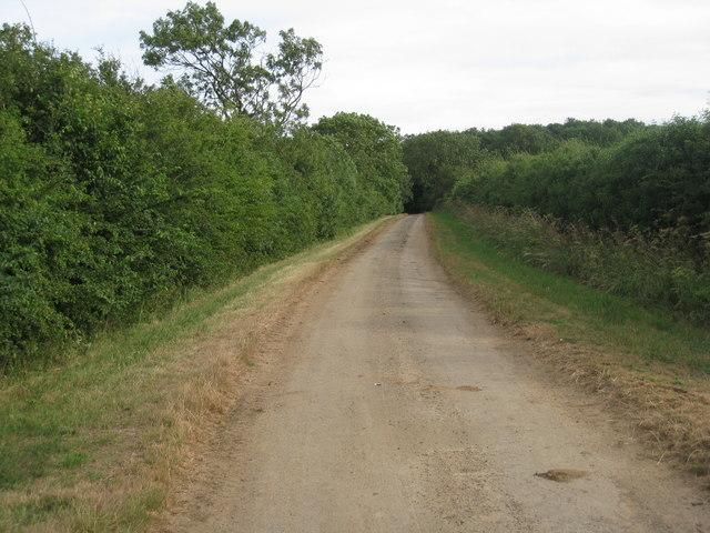 Lane near Stoneholme