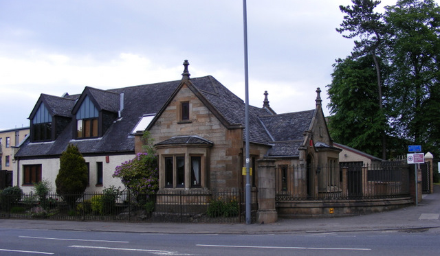 Gatehouse on Hawkhead Road