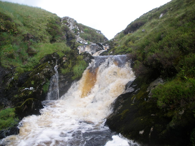 Waterfall on the Allt Beochlich