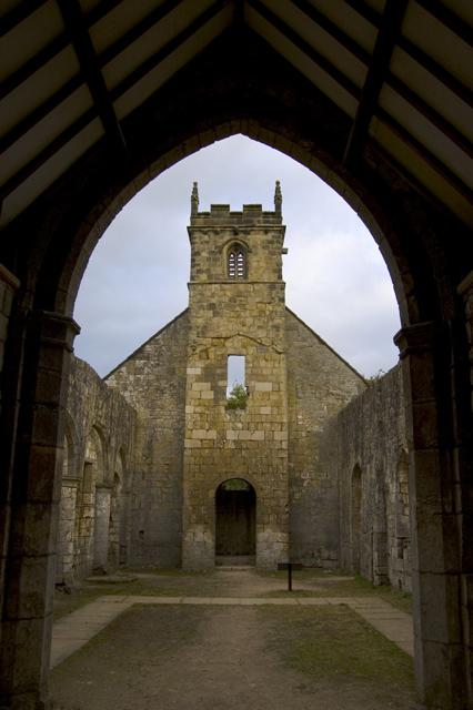 Inside St Martin's, Wharram Percy