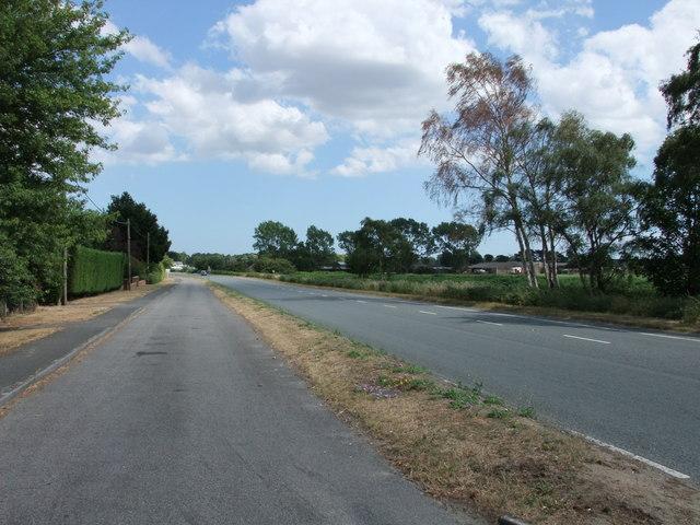 Felixstowe Road near Nacton