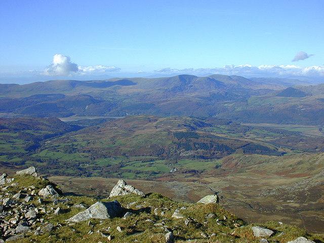 View north from Cadair Idris