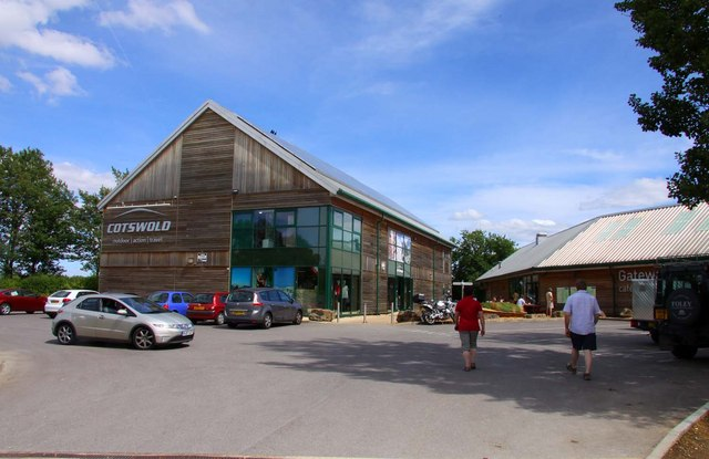 The Cotswold shop at the Cotswold Water Park