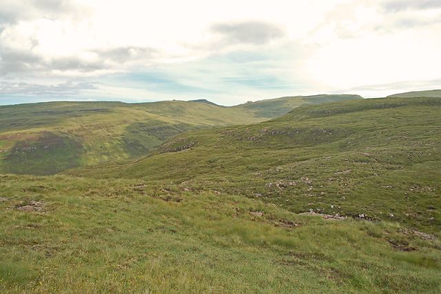 North-east from Beinn Tuath