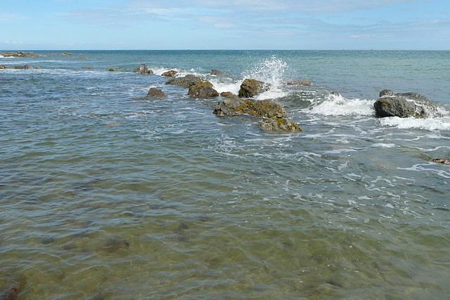 Rocks at Monks Bay