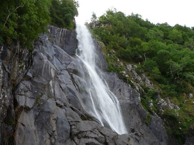 The top of the fall, Rhaeadr Fawr