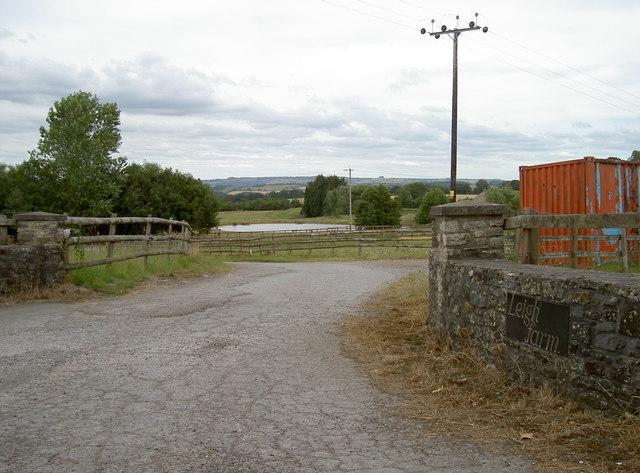 Entrance to Leigh Farm
