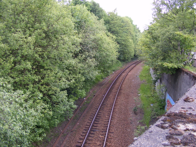 The Paisley Canal railway line