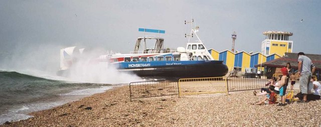 Southsea hover terminal - arrival