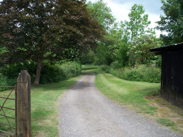 Footpath to Over Norton [1]