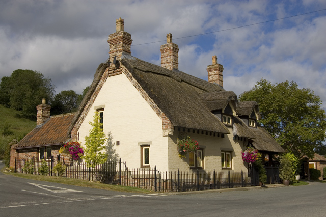 Thatched cottage, Thixendale