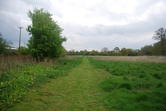 Sussex Ouse Valley Way south of Sheffield Park