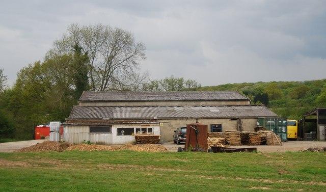 Barns, Waspbourne Manor Farm