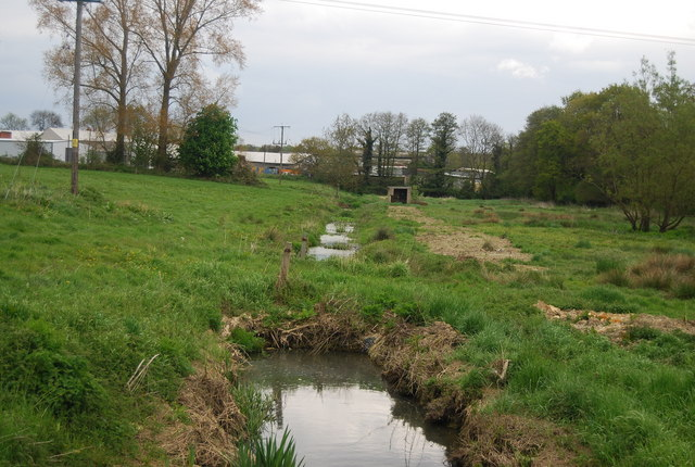 Drainage channel off Pellingford Brook