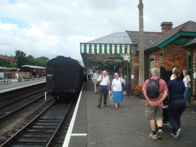 Sheringham Railway Station - North Norfolk Railway