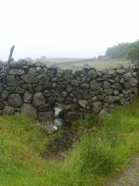 Wall near Wanthwaite