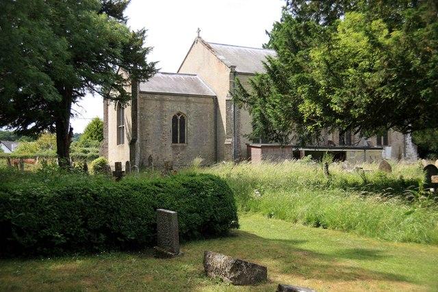 Redlynch church and grave yard
