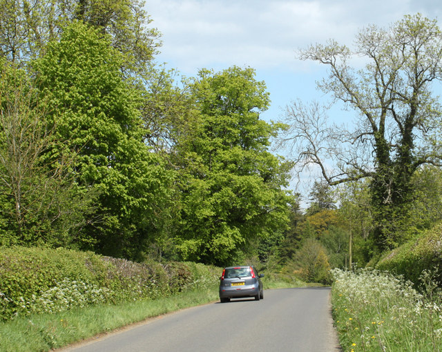 2010 : Minor road from Grittleton