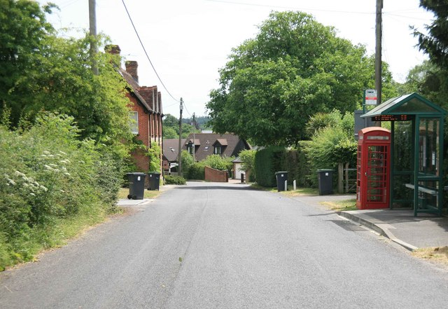 Lover village and phone box