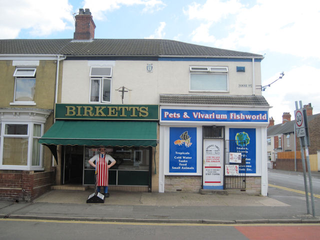 Shops on Heanage road