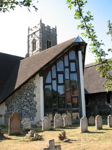 St Andrew's church in Eaton