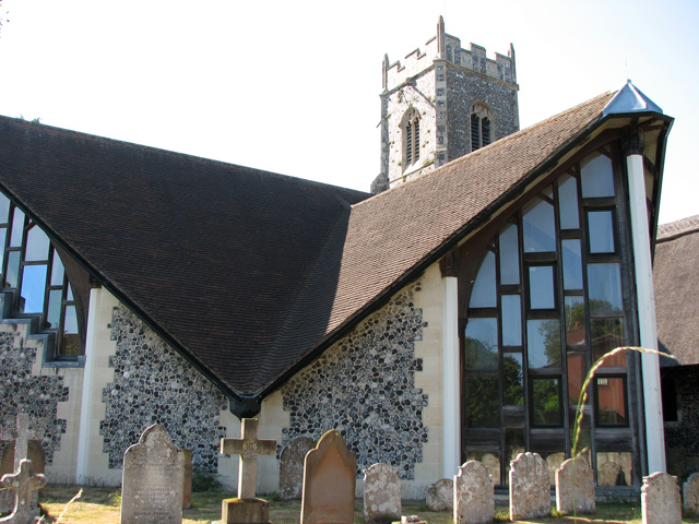 St Andrew's church in Eaton