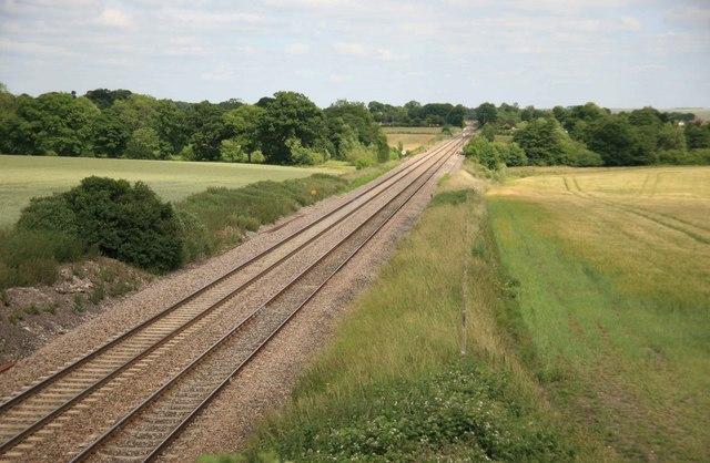 Paddington to Penzance main line Woodborough