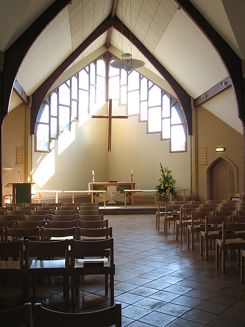 St Andrew's church in Eaton - the new extension