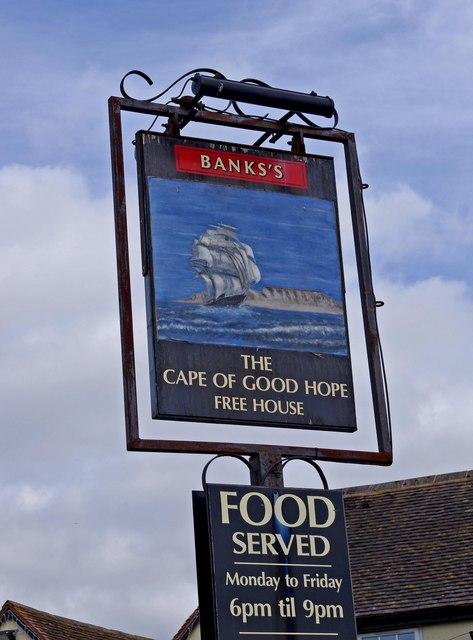 The Cape of Good Hope (pub sign)