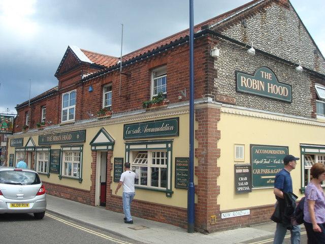 The Robin Hood public house, Sheringham