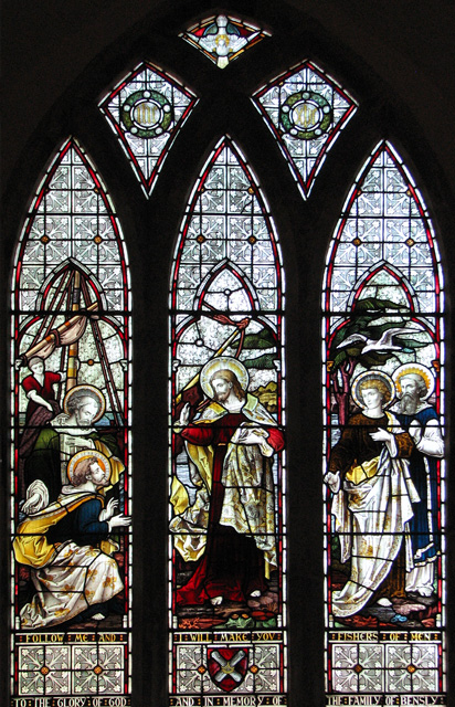 St Andrew's church in Eaton - east window